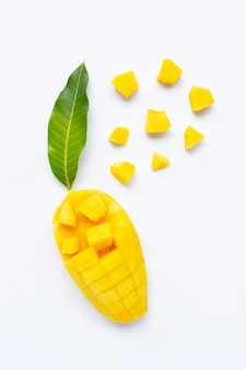 Frutas tropicais, manga