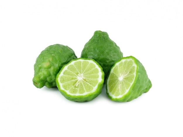 Frutos de bergamota isolados