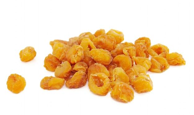 Frutos de longan secos