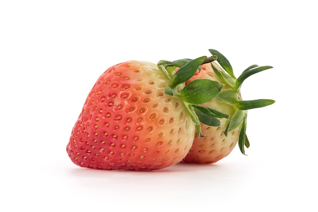 Frutos de morango isolados