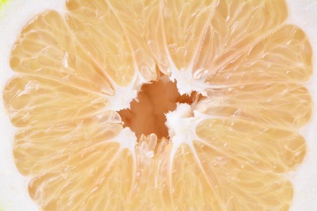 Frutos de pomelo de textura