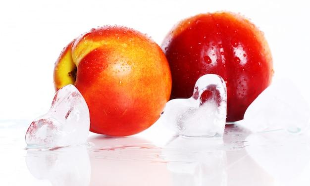 Frutos frescos e molhados de nictarine