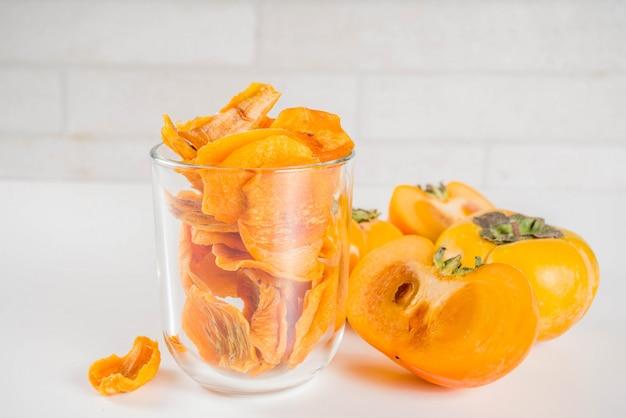 Frutos secos de caqui
