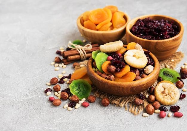 Frutos secos misturados