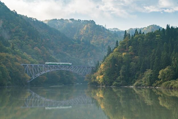 Fukushima primeira ponte rio tadami japão