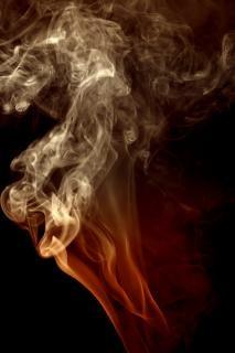 Fumaça, arte, cheirar, abstract