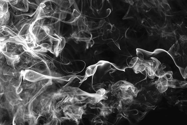 Fumaça branca papel de parede abstrato da área de trabalho