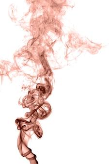 Fumaça colorida abstrata sobre um fundo claro
