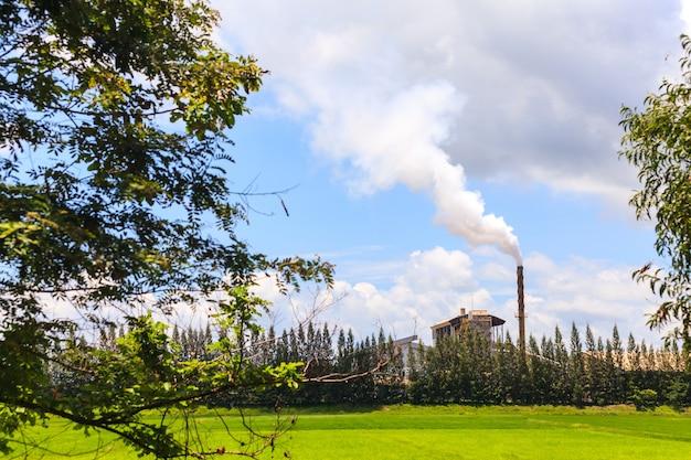Fumaça de fábrica