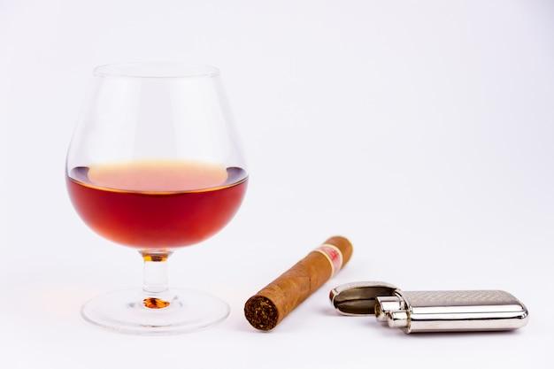 Fumaça e bebida