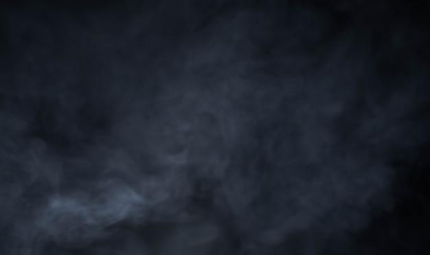 Fumaça no fundo preto