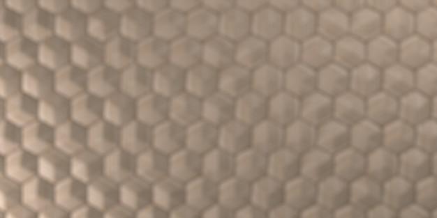 Fundo 3d geométrico abstrato papel de parede hexagonal
