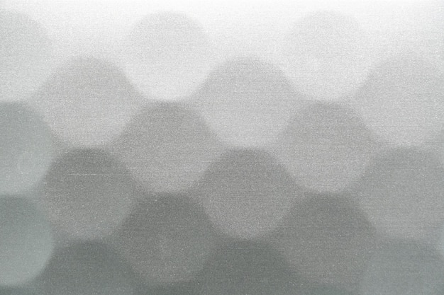 Fundo 3d metálico com padrão de círculo. fundo de cor prata moderno e elegante.