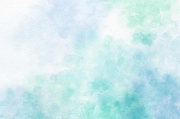 Fundo abstrato aquarela azul suave