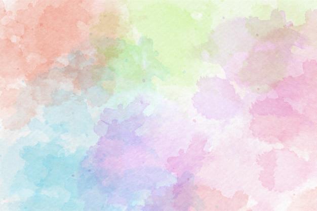 Fundo abstrato aquarela colorido
