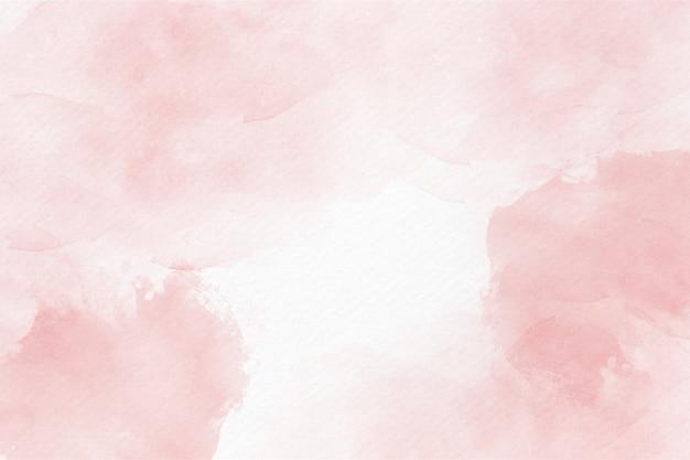 Fundo abstrato aquarela rosa suave Foto Premium