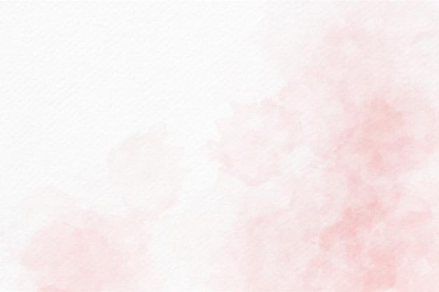 Fundo abstrato aquarela rosa suave