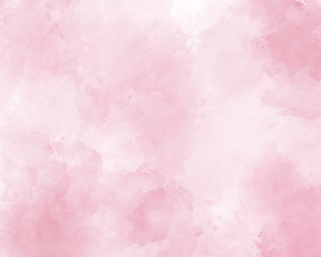 Fundo abstrato aquarela rosa