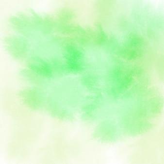 Fundo abstrato aquarela verde e amarelo abstrato