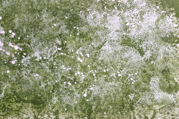 Fundo abstrato aquarela verde oliva e branco
