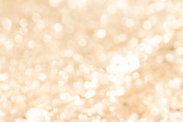 Fundo abstrato bokeh laranja ou ouro