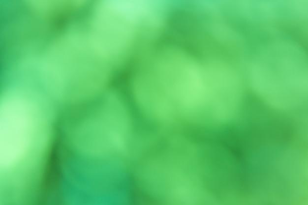 Fundo abstrato bokeh verde turva