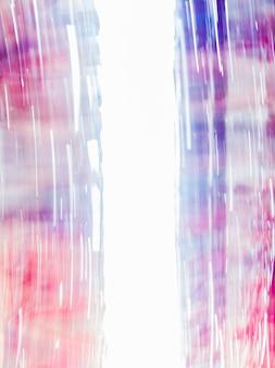 Fundo abstrato borrado com azul e vermelho