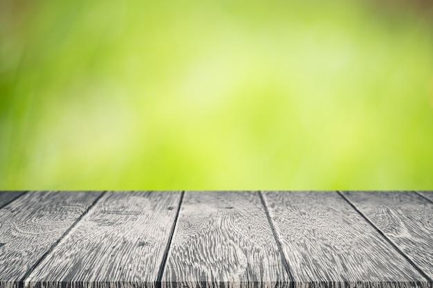 Fundo abstrato borrão da natureza verde.