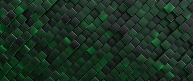 Fundo abstrato. células verdes brilhantes