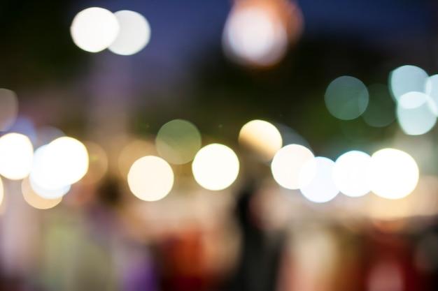 Fundo abstrato com bokeh luzes desfocadas