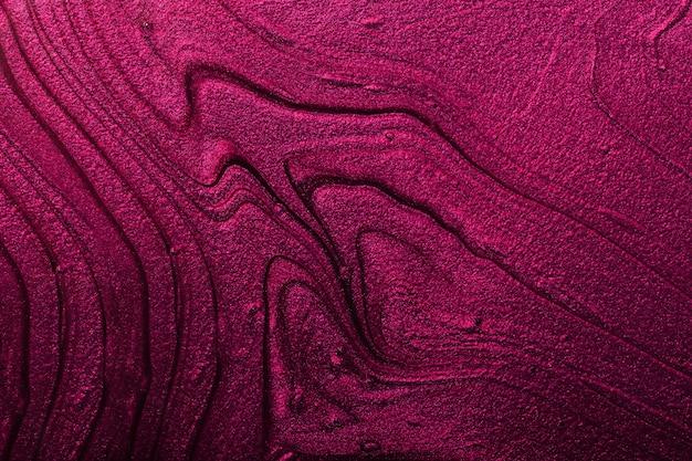 Fundo abstrato com brilho rosa e prateado conceito de composiçãobonitas manchas de lacas líquidas de unha