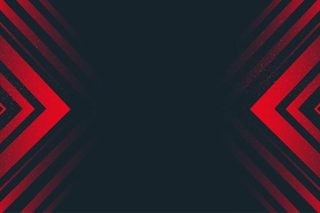 Fundo abstrato com linhas vermelhas