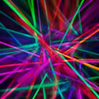 Fundo abstrato com luzes coloridas