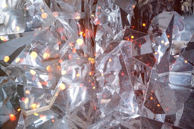 Fundo abstrato com textura de gelo