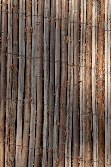 Fundo abstrato com textura de madeira