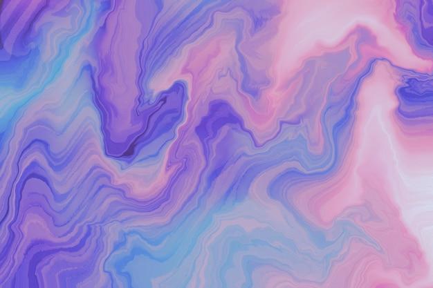 Fundo abstrato com textura de tinta ondulada