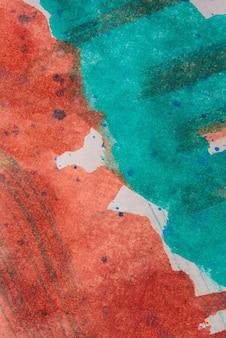 Fundo abstrato com tinta acrílica sobre tela, fundo grunge com espaço para texto ou imagem, manchas de tinta aquarela, textura brilhante colorida.