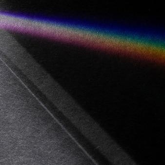 Fundo abstrato da linha do espectro do arco-íris