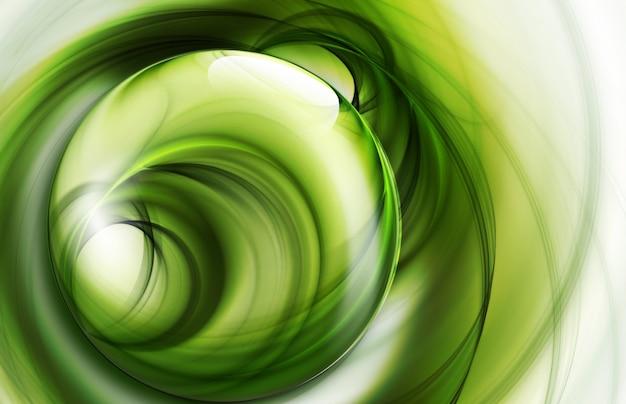 Fundo abstrato da natureza verde