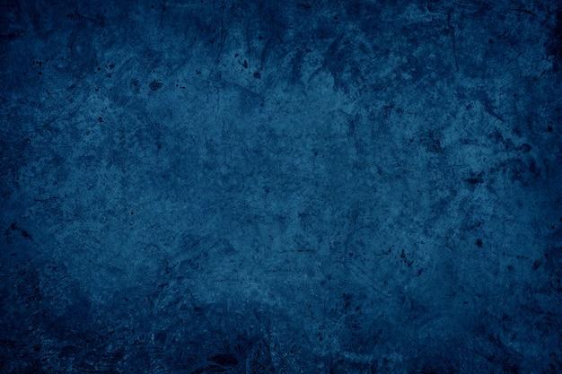 Fundo abstrato da parede de concreto do oceano azul escuro. superfície do grunge do piso de concreto polido