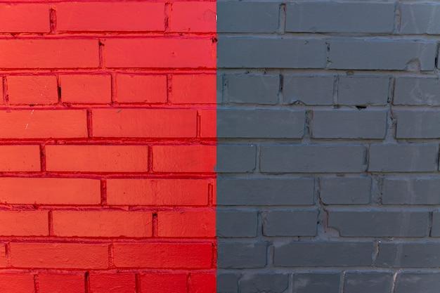 Fundo abstrato da parede de tijolos multicoloridos. design exterior,