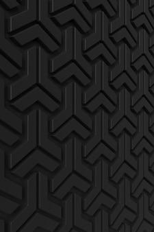 Fundo abstrato da parede moderna da telha. renderização em 3d.