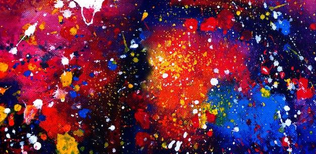 Fundo abstrato da pintura em aquarela.