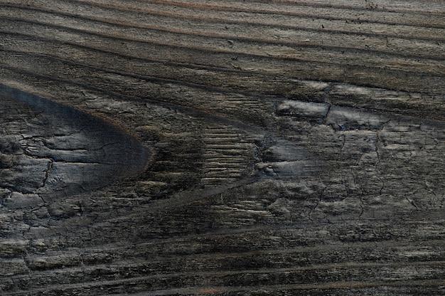 Fundo abstrato da placa de madeira queimada. closeup topview para obras de arte. foto de alta qualidade