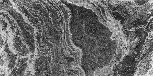Fundo abstrato da textura de mármore velha com grunge no monochrome.