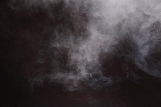 Fundo abstrato das nuvens de fumo, todo o movimento borrado