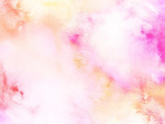 Fundo abstrato de cor de água
