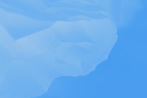 Fundo abstrato de cor gradiente azul com linhas borradas