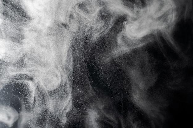 Fundo abstrato de fumaça e nevoeiro