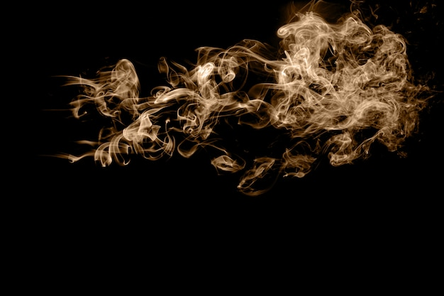 Fundo abstrato de fumaça marrom.